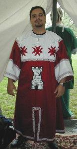 Luis de Castilla heraldric tunic